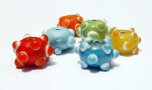 How to Etch Lampwork Beads