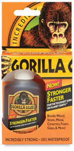 best glue for the job - could be gorilla glue