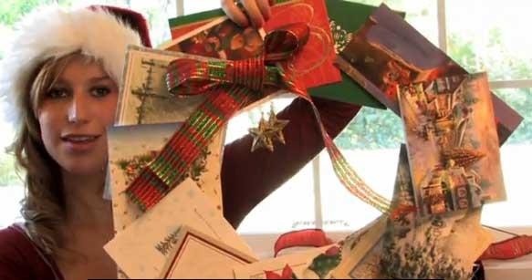Easy Indoor Holiday Wreath