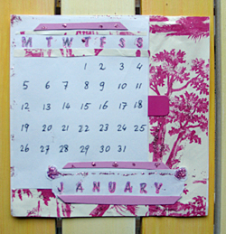 Craft Simple, Marvellous Desk Calendars