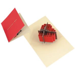 advanced valentine heart pop-up greeting card