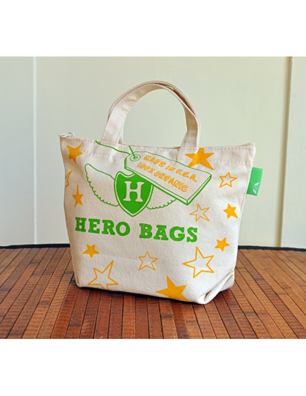 green design tote bags