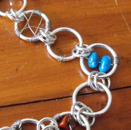 How to Make Jewelry: Dreamcatcher Bracelet with Gemstones
