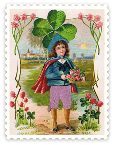 Scrapbooking Crafts for St Patrick s Day :: Free Vintage Printables