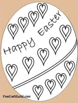 Free Easter Coloring Pages & Egg Mobile Project