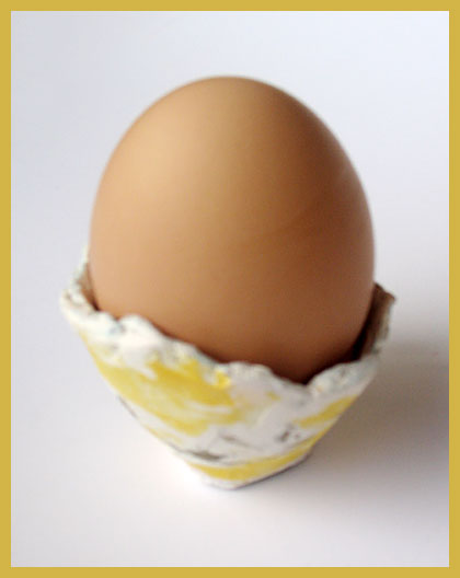 Easter Crafts for Kids: Groovy Paper Mache Egg Holders