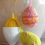 Free Knitting Patterns Easter Eggs