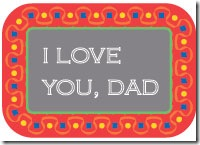special fathers day card
