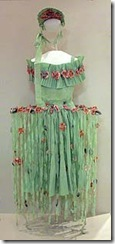 crepe paper dress 1910