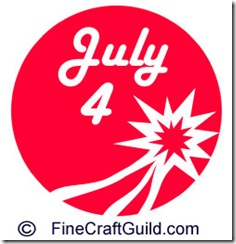 4th of July – Cake Stencil