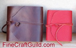 Handmade Business Cards in Pouch – the Perfect Gift
