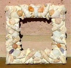 How to Make a Seashell – Adorned Picture Frame