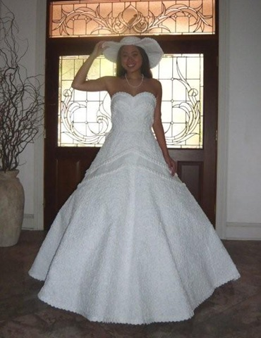 Trends in Toilet Paper Dresses & Coffee Filter Prom Gowns