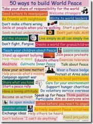 ways to build world peace