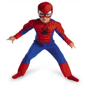 Spiderman Toddler halloween costume