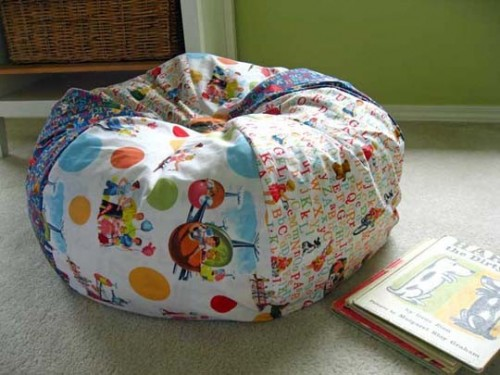 Back to School: Dorm Bean Bag Chair (Free Video Tutorials)