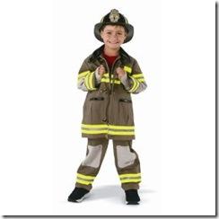 fire fighter boy halloween costume