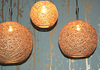 how to make hemp lamps