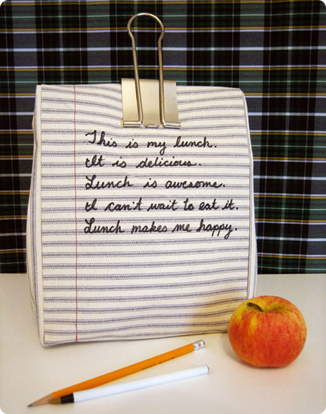 how to make a lunch bag