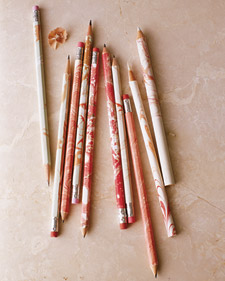 how to make marbled pencils