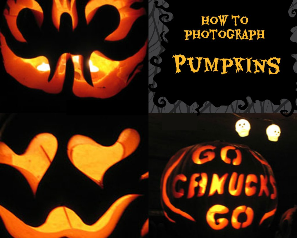 How to Photograph Pumpkins