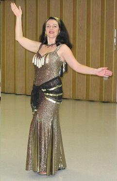 belly dancing dress costume