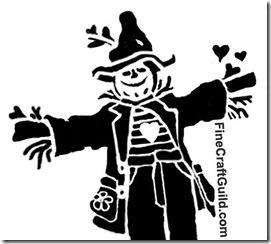 scarecrow pumpkin free halloween stencil