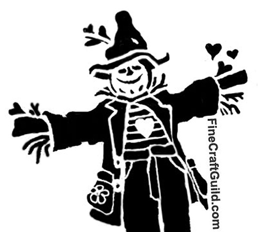 scarecrow pumpkin pattern