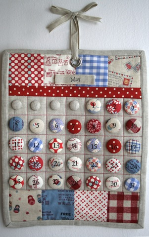 advent calendar by heartlinen