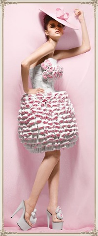 Latest Haute Couture Toilet Paper Dress Design
