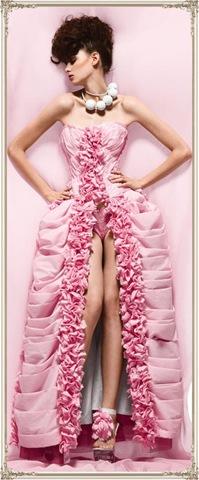 Latest Haute Couture Toilet Paper Dress Design