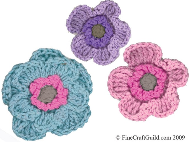 Easy Crochet Flower - A Free Pattern