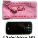 pink blackberry or iphone pouch