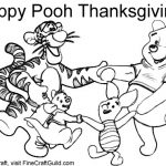 Free Thanksgiving Coloring Pages To Print: Winnie the Pooh