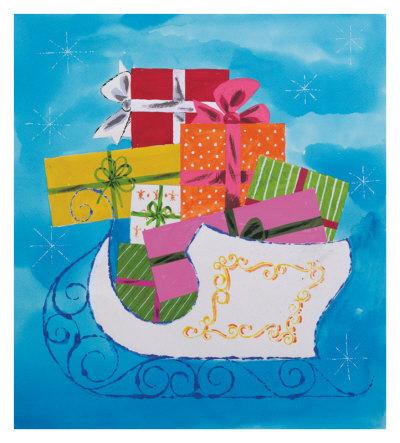 Make Your Own Andy Warhol Christmas Card