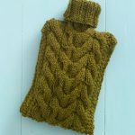 knit water bottle cover