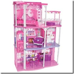 barbie dream town doll house