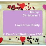 Handmade Gifts: Easy Picture Frames Decoration for Kids