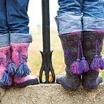 Groovy Boots – Free Knitting Pattern