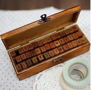 Alphabet :etter Set :: I have a dream  garland martin luther king craft :: FineCraftGuild.com
