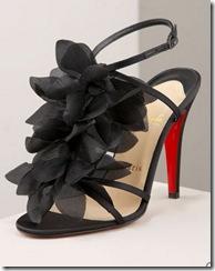 Christian Louboutin Petal Sandal - DIY Ruffle sandals