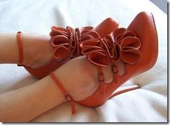 christian louboutin dillan ruffle shoes
