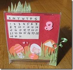 desk calendar 2010