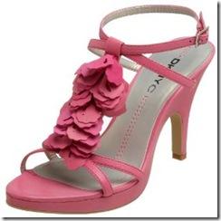 DKNYC Ruffle Sandal