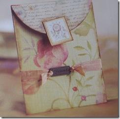 handmade valentine card for friend