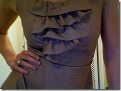 free linen ruffle dress pattern