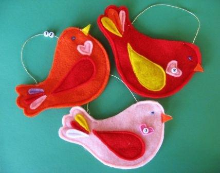 Little birdie advent calendar 4