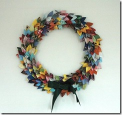 recycled wreath _gusandotherthings.blogspot