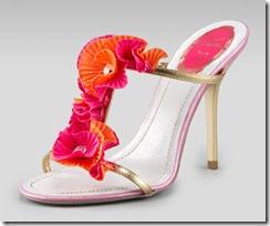Ruffle sandals Rene Caovilla