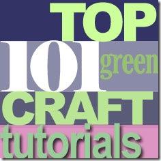 top 101 green tutorials, featured at FineCraftGuild